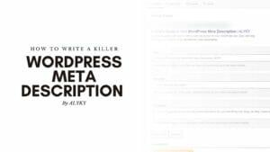 wordpress meta description