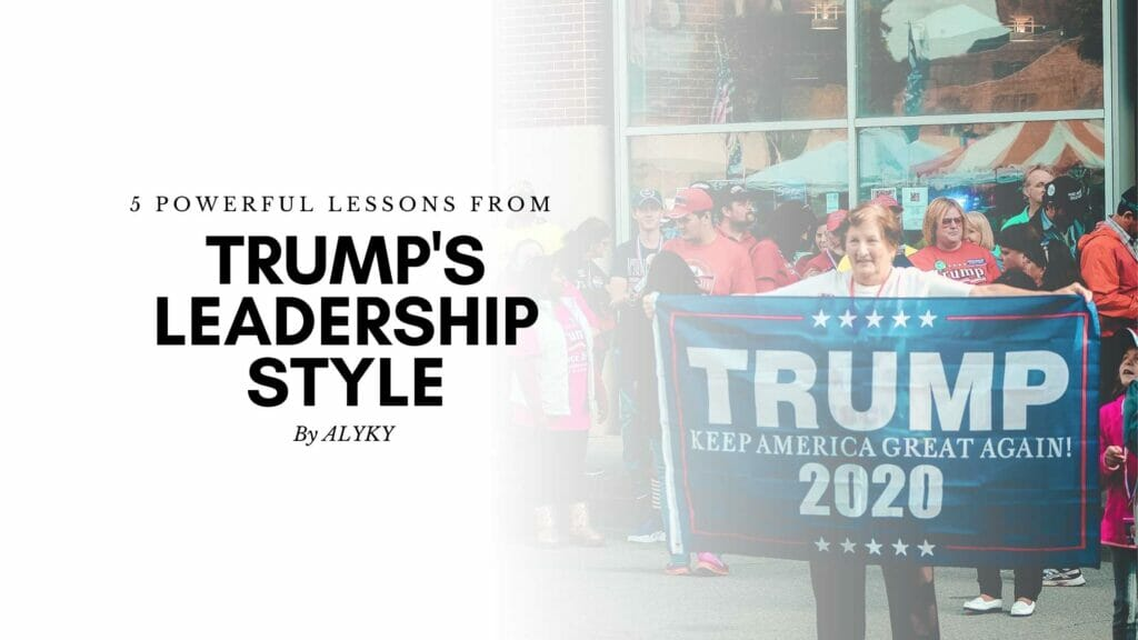 trump's leadership style